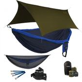 ENO Double Deluxe OneLink Sleep System - Navy/Royal With Guardian SL & Olive Profly