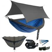 ENO DoubleNest OneLink Sleep System - Charcoal/Royal With Grey Profly