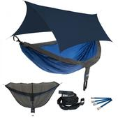 ENO DoubleNest OneLink Sleep System - Charcoal/Royal With Navy Profly