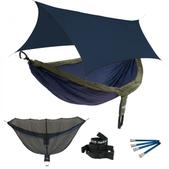ENO DoubleNest OneLink Sleep System - Navy/Olive With Guardian SL & Navy Profly
