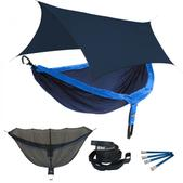 ENO DoubleNest OneLink Sleep System - Navy/Royal With Navy Profly