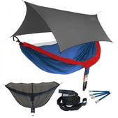 ENO DoubleNest OneLink Sleep System - Patriot With Grey Profly