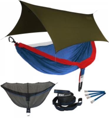 ENO DoubleNest OneLink Sleep System - Patriot With Olive Profly