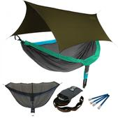 ENO DoubleNest OneLink Sleep System - PCT Special Edition With Olive Profly
