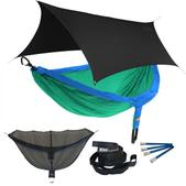 ENO DoubleNest OneLink Sleep System - Royal/Emerald With Black Profly