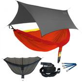 ENO DoubleNest OneLink Sleep System - Sunshine With Grey Profly