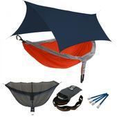 ENO OneLink DoubleNest w/ Insect Shield Sleep System Orange/Grey