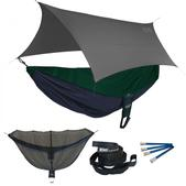 ENO Reactor OneLink Sleep System - Navy/Forest With Grey Profly