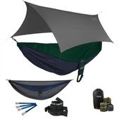 ENO Reactor OneLink Sleep System - Navy/Forest With Guardian SL & Grey Profly