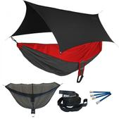ENO Reactor OneLink Sleep System - Red/Charcoal With Black Profly