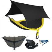 ENO SingleNest OneLink Sleep System - Black/Yellow With Black Profly