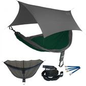 ENO SingleNest OneLink Sleep System - Forest/Charcoal With Grey Profly
