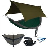 ENO SingleNest OneLink Sleep System - Forest/Charcoal With Olive Profly