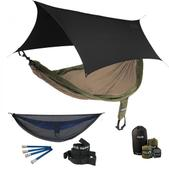 ENO SingleNest OneLink Sleep System - Khaki/Olive With Guardian SL & Black Profly