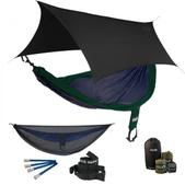 ENO SingleNest OneLink Sleep System - Navy/Forest With Guardian SL & Black Profly