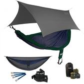 ENO SingleNest OneLink Sleep System - Navy/Forest With Guardian SL & Grey Profly