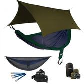 ENO SingleNest OneLink Sleep System - Navy/Forest With Guardian SL & Olive Profly