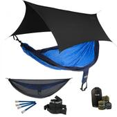 ENO SingleNest OneLink Sleep System - Navy/Royal With Guardian SL & Black Profly