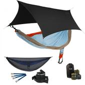 ENO SingleNest OneLink Sleep System - Powder/Orange/Tan With Guardian SL & Black Profly