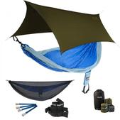 ENO SingleNest OneLink Sleep System - Powder/Royal With Guardian SL & Olive Profly