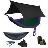 ENO SingleNest OneLink Sleep System - Purple/Forest With Guardian SL & Black Profly