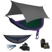 ENO SingleNest OneLink Sleep System - Purple/Forest With Guardian SL & Grey Profly