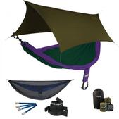 ENO SingleNest OneLink Sleep System - Purple/Forest With Guardian SL & Olive Profly