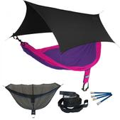 ENO SingleNest OneLink Sleep System - Purple/Fuchsia With Black Profly