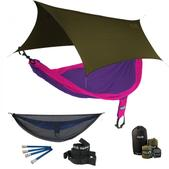 ENO SingleNest OneLink Sleep System - Purple/Fuchsia With Guardian SL & Olive Profly