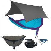 ENO SingleNest OneLink Sleep System - Purple/Teal With Grey Profly