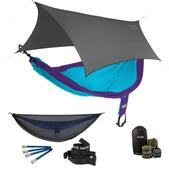 ENO SingleNest OneLink Sleep System - Purple/Teal With Guardian SL & Grey Profly