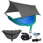 ENO SingleNest OneLink Sleep System - Royal/Emerald With Grey Profly