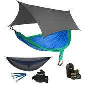 ENO SingleNest OneLink Sleep System - Royal/Emerald With Guardian SL & Grey Profly