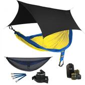 ENO SingleNest OneLink Sleep System - Sapphire/Yellow With Guardian SL & Black Profly