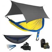 ENO SingleNest OneLink Sleep System - Sapphire/Yellow With Guardian SL & Grey Profly