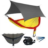 ENO SingleNest OneLink Sleep System - Sunshine With Grey Profly