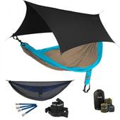 ENO SingleNest OneLink Sleep System - Teal/Khaki With Guardian SL & Black Profly