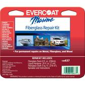 Evercoat Polyester Fiberglass Repair Kit 1/2 Pint 100637
