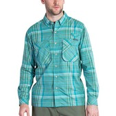 ExOfficio Air Strip Macro Plaid Long Sleeve - Men's
