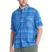 ExOfficio Air Strip Macro Plaid Long Sleeve Shirt - Men's