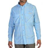 ExOfficio Air Strip Macro Plaid LS Shirt - Men's