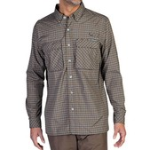 ExOfficio Air Strip Micro Plaid Long Sleeve - Men's