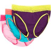 ExOfficio Give-N-Go Lacy Bikini Briefs 3-Pack - Women's - 2015 Overstock