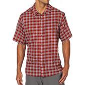 ExOfficio Men's Next to Nothing Plaid Short Sleeve Shirt-L