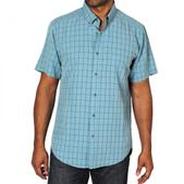 ExOfficio Men's Pisco Micro Plaid Short Sleeve Shirt