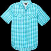 ExOfficio Men's Sol Cool Cryogen Plaid Short-Sleeve Shirt