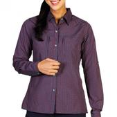 ExOfficio Women's Drylite Check Long Sleeve Shirt