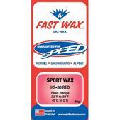 Fast Wax HS-30 Wax Red