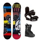 Firefly Delimit Squirt Kids Complete Snowboard Package