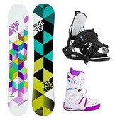 Firefly Spheric Express 2 Womens Complete Snowboard Package